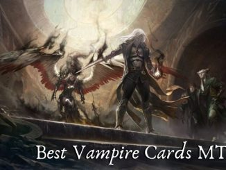 Best Vampire Cards MTG