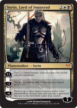 Sorin, Lord of Innistrad (142) - Dark Ascension